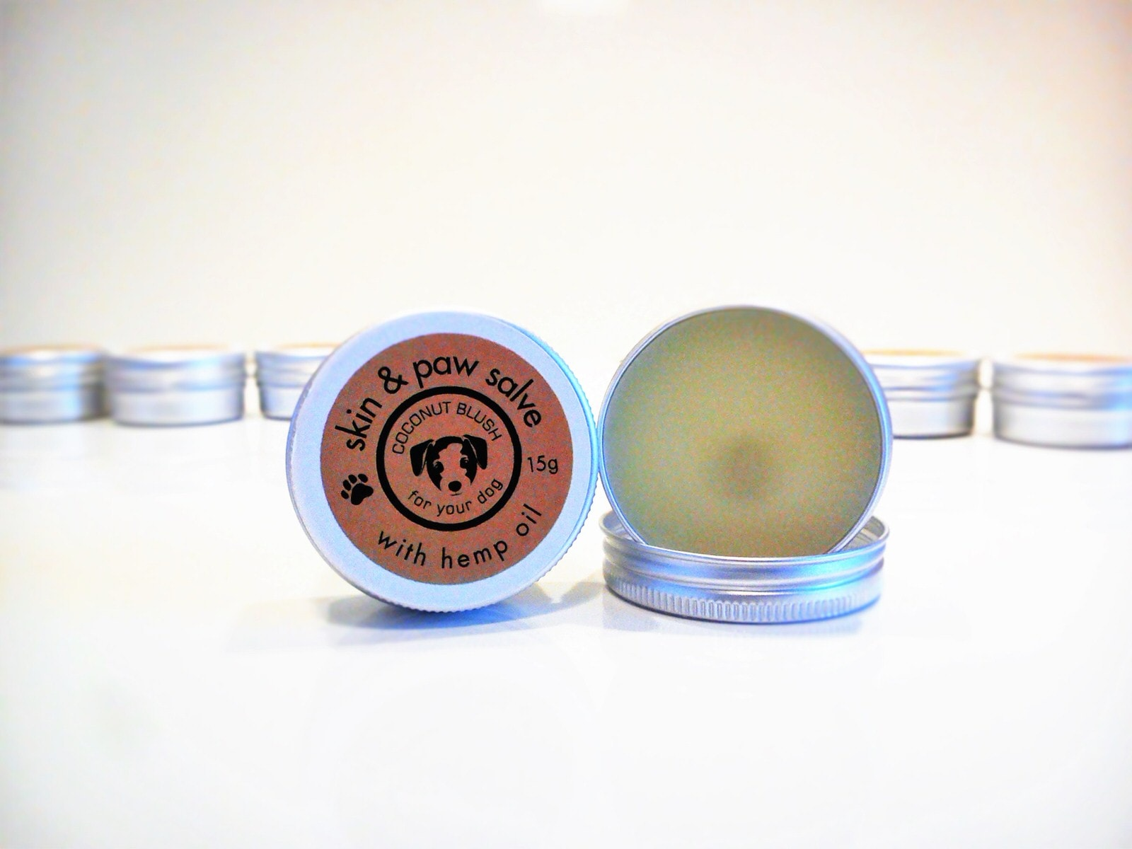 Coconut Blush Skin & Paw Salve for Dogs 15g