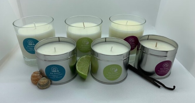 Pet Scents Candle Collection