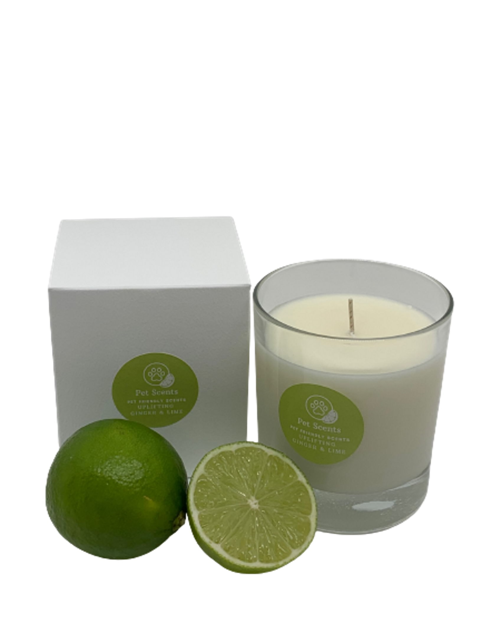 Pet Scents Ginger & Lime - Glass