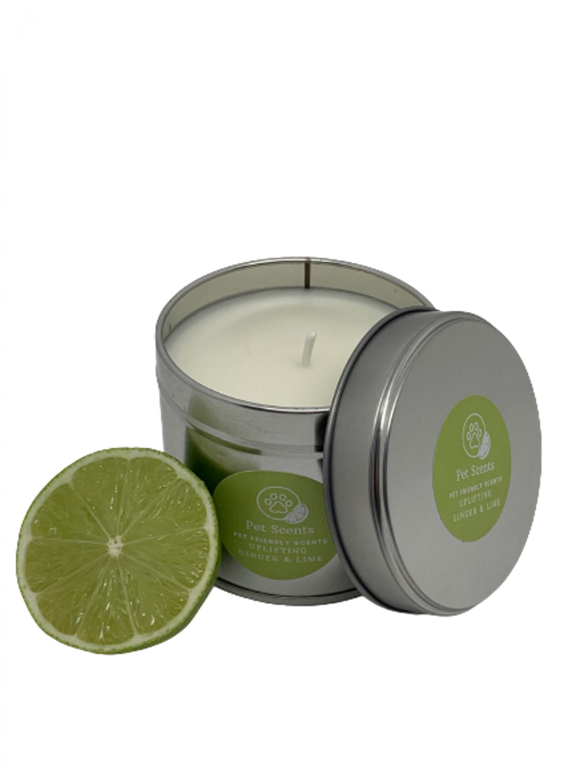 Pet Scents Ginger & Lime - Tin